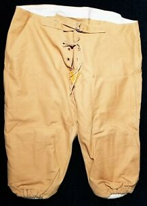 High Grade 1940s Wilson Vintage Football Pants Adult Sz 40 w- Quilted Hip Pads
