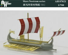 Artist Hobby 1/700 resin kit Roman Quadriremes galley (1) AH 87021