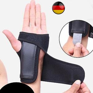 Handgelenk Schiene Orthese Handbandage Handgelenk Stütze Bandage Handschiene DHL