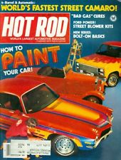 1980 Hot Rod Magazine: How to Paint Your Car/Fastest Street Camaro/Bad Gas Cures
