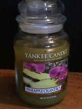 Yankee Candle Pineapple Cilantro Large Jar 22oz
