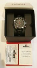 Tissot PRS516 Quartz Black Chronograph Dial & Strap Watch T100.417.16.051.00