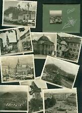 Altes Photo-Mäppchen Graz 10 Original-Fotografien 1930er III. Reich