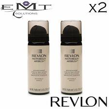 2 x Revlon Photoready Airbrush Mousse Makeup - Vanilla 010 - Free Post - New