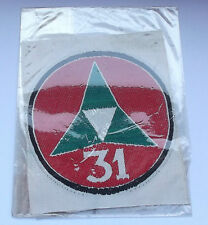original vietnam american war vintage  woven silk 31st special forces patch