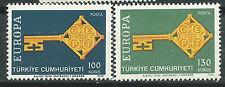 TURQUIA EUROPA cept 1968 Sin Fijasellos MNH