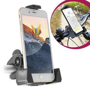 Mobilefox 360° Universal Bicycle Phone Mount Holder Bike Handlebar Handlebar