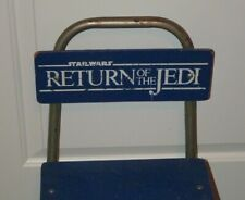 Rare Vintage 1983 Star Wars Return of the Jedi Child's Chair Great to Display