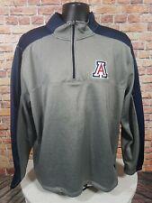 Arizona State Wildcats University NCAA 1/4 Zip Sweatshirt Dri Fit Mens Size XXL