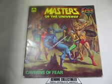 """""""Vintage"""" Masters of the Universe Golden Books CAVERNS of FEAR 1983 USA"""