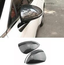2PCS ABS Carbon Fiber Side Door Mirror Cover trim FOR Hyundai Sonata 2020-21