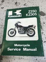 1979 1980 1981 1982 Kawasaki Z250 KZ305 Service Repair Shop Manual OEM