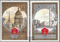 Sowjet-Union 4940-4941 (kompl.Ausg.) gestempelt 1980 Olymp. Spiele - Tourismus