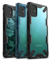 For Samsung Galaxy A51 / A71 Case Ringke [FUSION-X] Clear Shockproof Cover