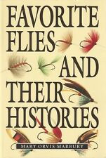 MARBURY ORVIS FISHING BOOK FAVOURITE FLIES AND THEIR HISTORIES paperback BARGAIN
