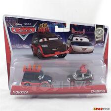 Disney Pixar Cars 2 Yokoza and Chisaki  - 2013 Tuners 2-pack #6 #7 of 10 Mattel