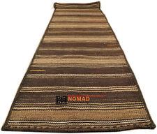Kelim Runner Khorasan 405 x 78 cm Persian Nomadic Carpet Kilim Tribal Rug