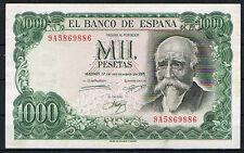 ESPAÑA 1000 PESETAS 1971 J. ECHEGARAY Serie 9A     MBC  VF