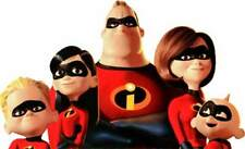 Walt Disney Pixar Studios THE INCREDIBLES Family Group shot Window Cling Sticker
