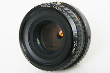 Pentax-A SMC 50mm f1.7 lens Ex+