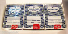 12 decks Imperial Palace Hotel Casino all Blue Playing Cards Las Vegas Poker use