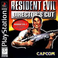 Resident Evil Director's Cut PS1 Great Condition Fast Shipping
