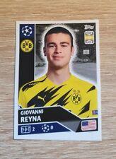 Topps Champions League 2020 2021 Giovanni Reyna DOR13 Borussia Dortmund Panini