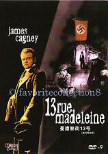 13 Rue Madeleine (1947) - James Cagney, Annabella (Region All)