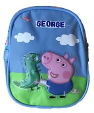 Peppa Pig George Mini Shoulder Bag with George and Mr Dinosaur