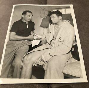 Stunningly Clean Original 1937 James J. Braddock Type 1 Boxing Photo