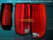 07 08 09 10 11 12 13 14 CHEVY SUBURBAN TAHOE YUKON TAIL LIGHTS G5 ESCALADE STYLE