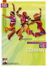 brightred Study Guide N5 Alemán por Susan Bremner Libro De Bolsillo 978190673654