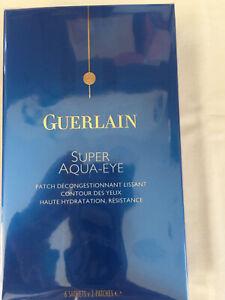 GUERLAIN Super Aqua-Eye 6 Sachets 2 Patches Full Size BNIB New Sealed