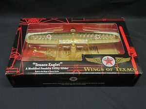 Wings of Texaco #10 Eaglet Franklin UTILITY Glider Airplane Special Gold Edition