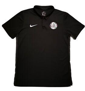 New Men's NIKE VENEZIA FC Polo Size Large