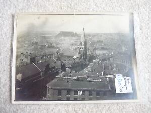 NOTTINGHAM AERIAL VIEW C 1913 ORIGINAL PHOTO 4.75X6.5 INS