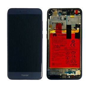 DISPLAY HUAWEI ORIGINALE HONOR 8 LITE BLU CON BATTERIA 02351EQJ 02351EQY LCD