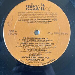 Mixx-It (CP)29 1989 DJ USE/MIX Promo De La Soul II Soul MC Hammer Cameron Paul