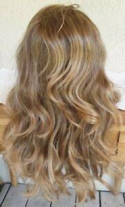"Revlon ""Splendide"" Long Haired Bouncy Big Curls 24/18T Buttered Toast Highlights"