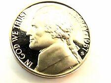 1987-S Jefferson Proof Nickel