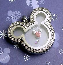 Mickey Mouse Memory Floating Locket & Charm & Origami Owl stardust Christmas RS