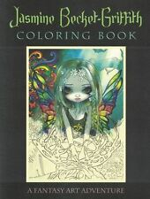 Jasmine Becket-Griffith Coloring Book - A Fantasy Art Adventure NEW