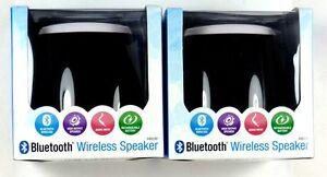 Lot of (2) ILIVE BLUE iSB23B Portable Wireless Bluetooth Speaker (Black)
