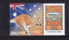 2003 Celebration & Nation 50c Kangaroo MUH With Personalised Tab - St Louis 1904