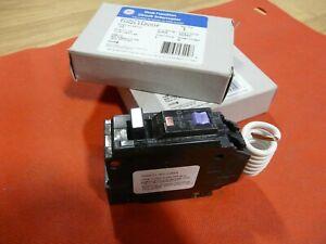 GE THQL1120DF 20 Amp 120 VAC Dual Function AFCI/GFCI Circuit Breaker - LOT OF 2