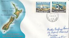 New Zealand 1964 Health Stamps set FDC Gisborne Health Camp Cancel VGC