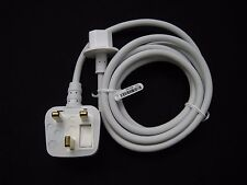 Apple UK wall plug extension power cable cord fr iMac Apple Mac Book Pro adapter