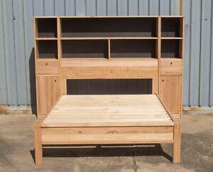Mansfield Bookshelf Bed - Solid Messmate Timber - Australian Made