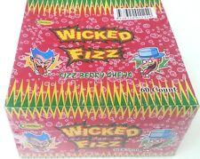 Wicked Fizz Sherbet Filled Strawberry Flavour Chew Candy - Bulk Lollies