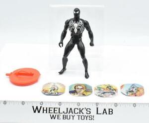 Spiderman BLACK 100% Complete 1984 Secret Wars Marvel Super Heroes Mattel